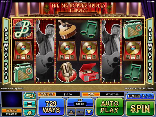 Hit The Dance Floor With The Big Bopper Free Slot From Real Time Gaming