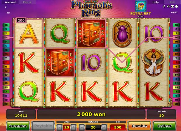 online slot machine game book of ra novomatic