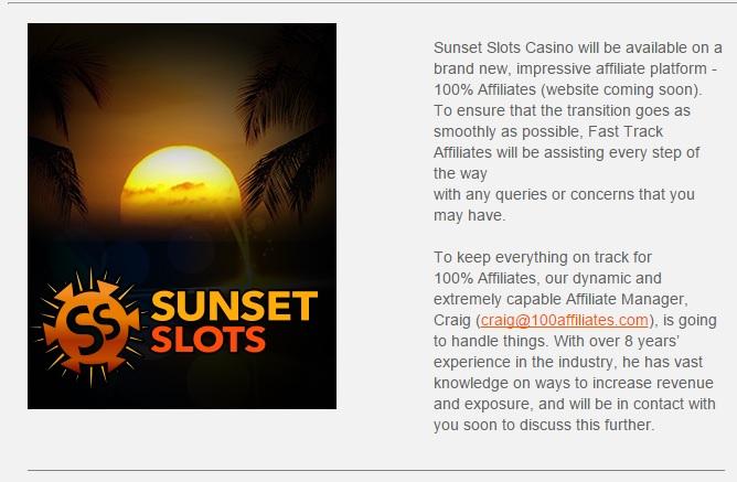 sunset slots