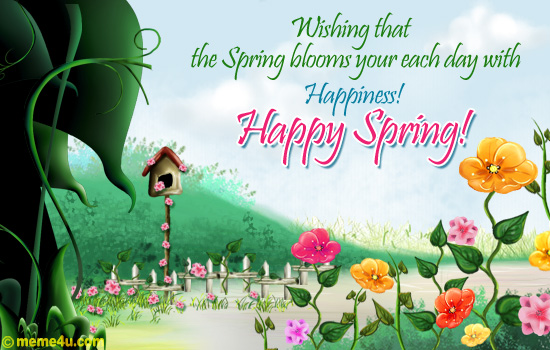 Happy Spring Day from FTA