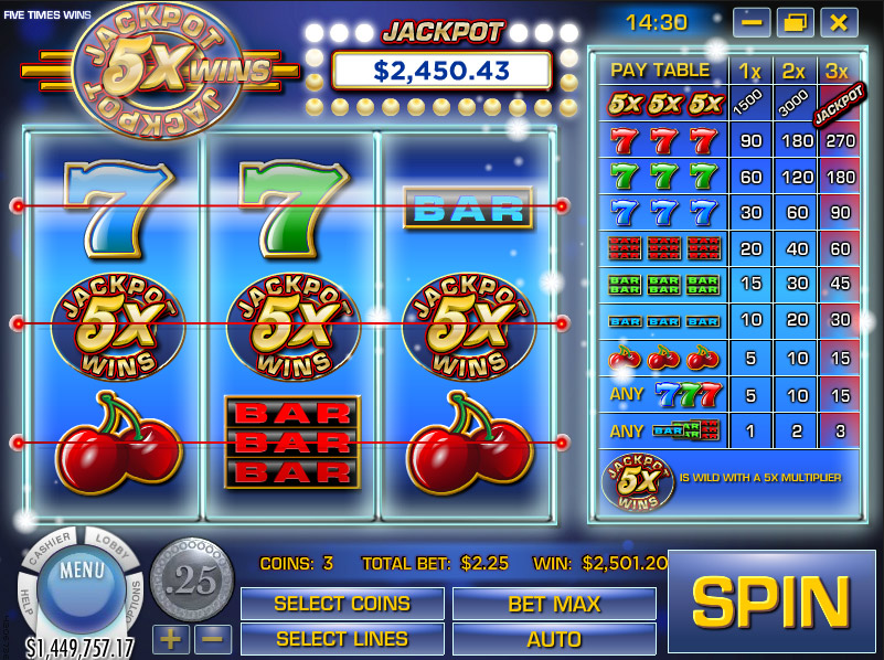 How to win jackpot in billionaire casino
