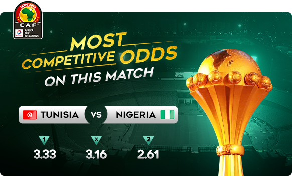 Most Comptitive Odds | CAF Africa Cup of Nations Egypt | Tunisia vs