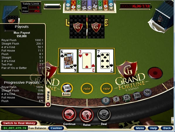 progressive casino games