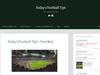 Today's Football Tips