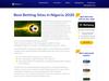 Best Betting Sites in Nigeria 2020
