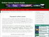 Online Casino Games Guide
