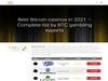 Bitcoin Casino Top